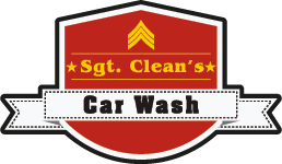 Sgt. Clean's Car Wash Logo